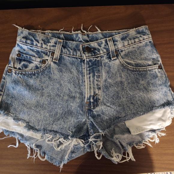 Levi's Pants - Vintage Levi Jean Shorts